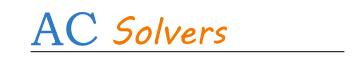 AC Solvers