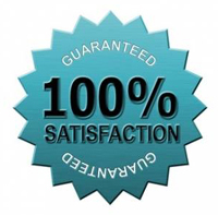 Guaranteed satisfaction every time